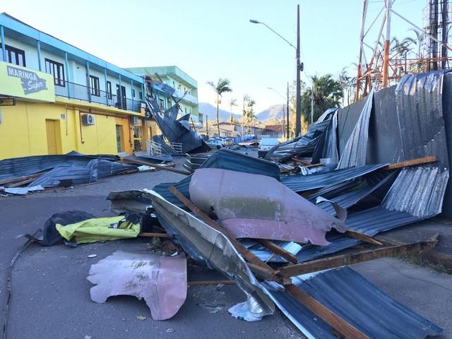 Governo de SC estima prejuízo de R$ 277 milhões com ciclone bomba