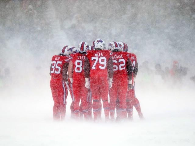 Você encararia uma nevasca como essa pelo seu time do coração?