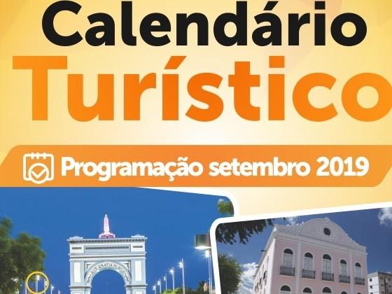 Prefeitura divulga Calendário de Eventos Turísticos de Sobral do mês de setembro