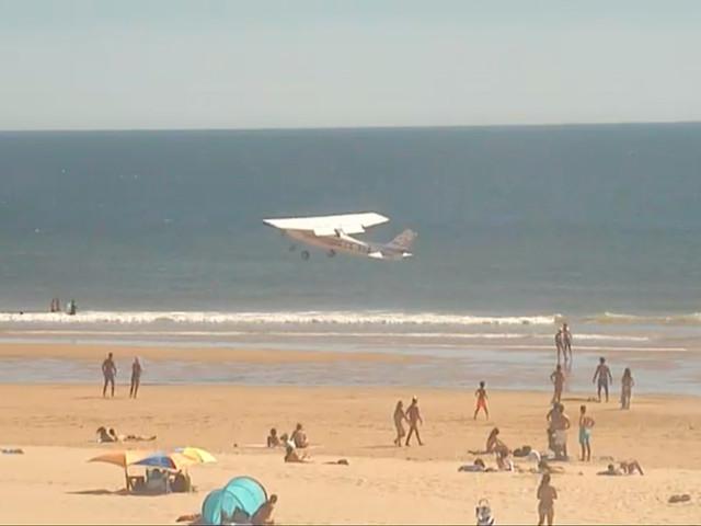 Caparica: Motor da avioneta parou quatro minutos após descolar
