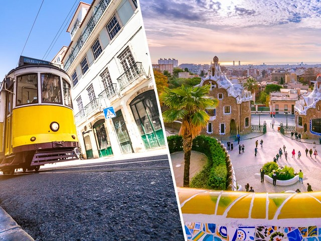 2 em 1 Portugal mais Espanha! Passagens para Lisboa ou Porto mais Barcelona ou Madri na mesma viagem a partir de R$ 1.832!