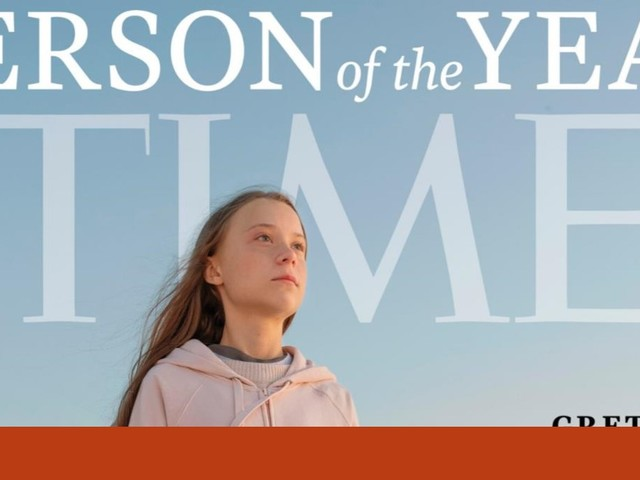 "Greta Thunberg é a ""Personalidade do Ano"" da revista Time"