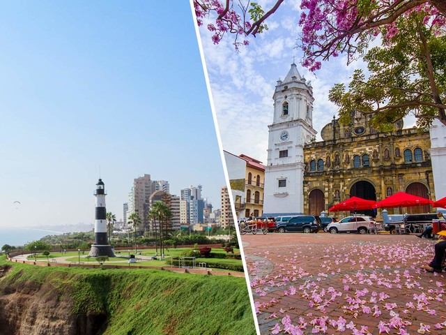 Passagens 2 em 1 com Panamá mais Peru ou Costa Rica a partir de R$ 1.542 saindo de Porto Alegre e mais cidades!