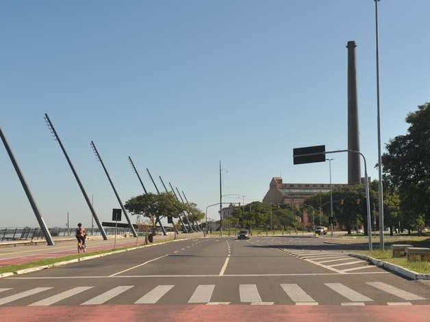Parques cercados e orla do Guaíba serão fechados em Porto Alegre
