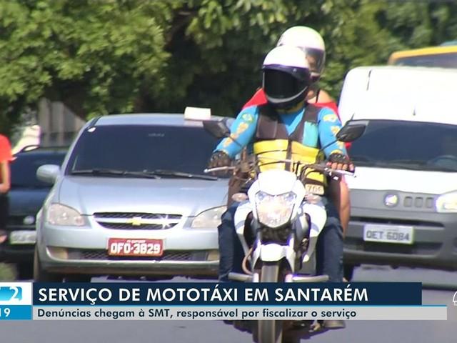 'SMT Cidadão' recebe denúncias em relação aos serviços de mototaxistas em Santarém