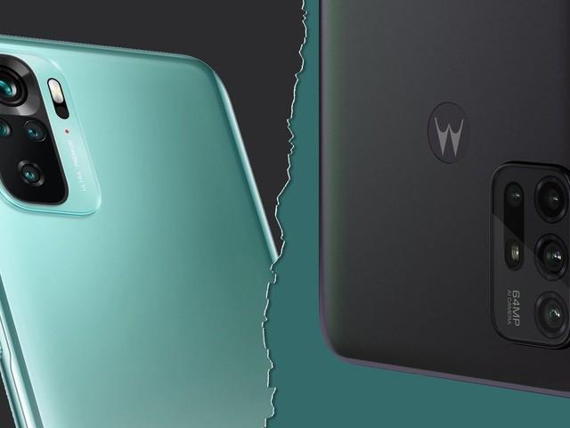 Redmi Note 10 vs Moto G30: dois intermediários com diferenças claras