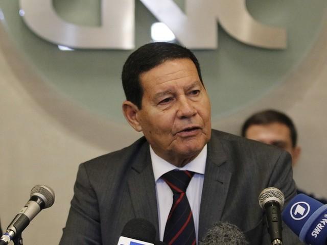 Mourão admite disputar a Presidência da República em 2022