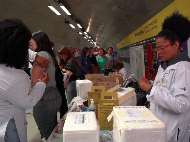 Mais de 67 mil pessoas são imunizadas no Dia D de vacinação contra o sarampo em SP