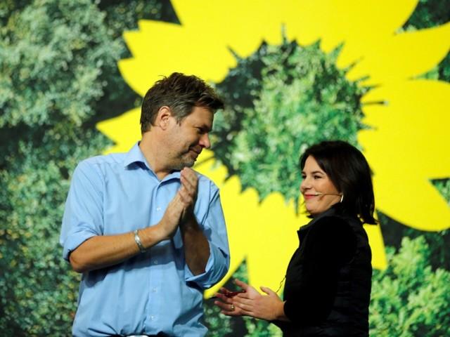 Große Zustimmung für Grünen-Vorsitzende Baerbock und Habeck