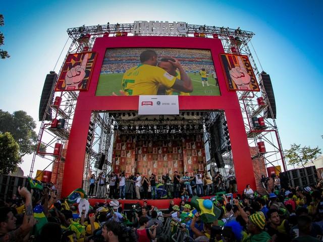 Rio tem programação especial para jogos da Copa América