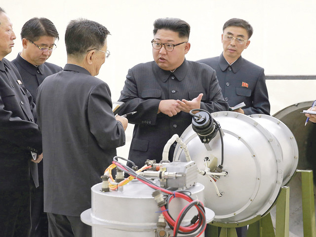 Bombardeiros dos Estados Unidos sobrevoam costa norte-coreana