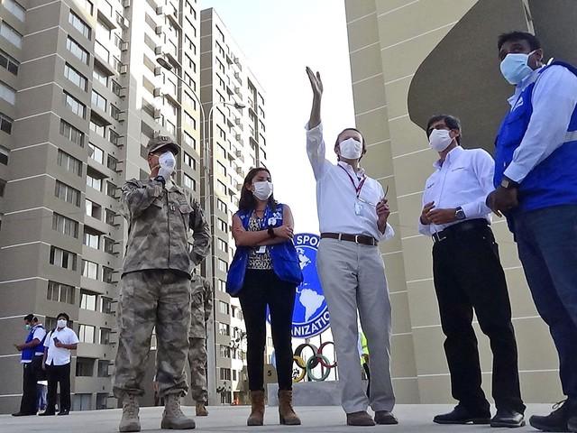 Vila dos Jogos Pan-Americanos de Lima vira hospital para pacientes com covid-19