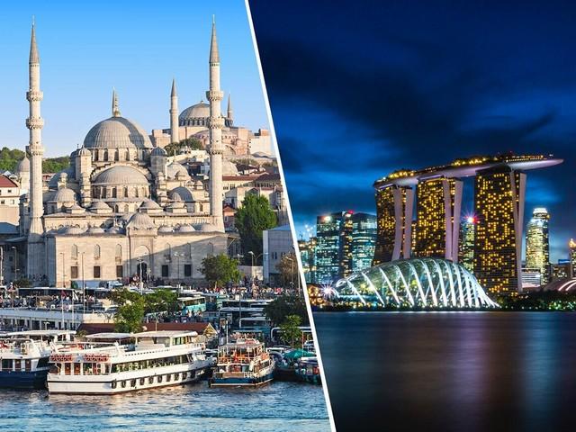 2 em 1! Passagens para a Turquia mais Singapura, Japão, Tailândia ou Índia a partir de R$ 3.789!