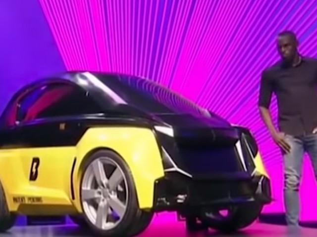 Ex-velocista Usain Bolt lança carro elétrico minúsculo