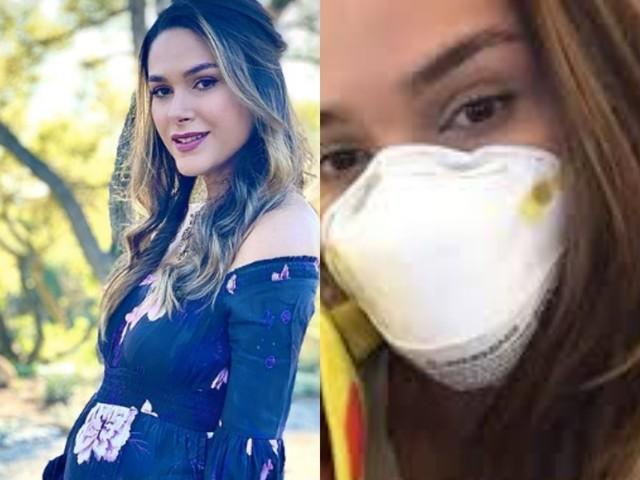 """Grávida, Fernanda Machado descobre grave doença e faz desabafo emocionante: """"Mal consigo respirar"""""""