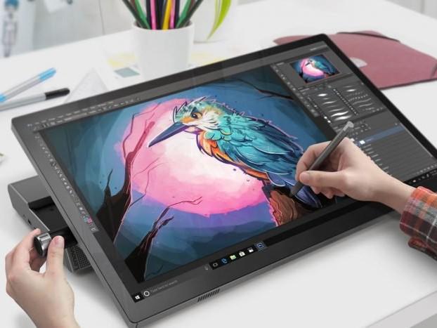 Lenovo Yoga A940 é um concorrente do Microsoft Surface Studio 2