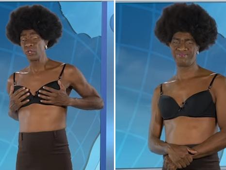 """Maju vira paródia no Casseta e Planeta e faz trocadilhos com """"Willian Bonde"""""""