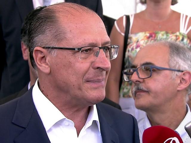 MP investiga Alckmin por suspeita de improbidade administrativa