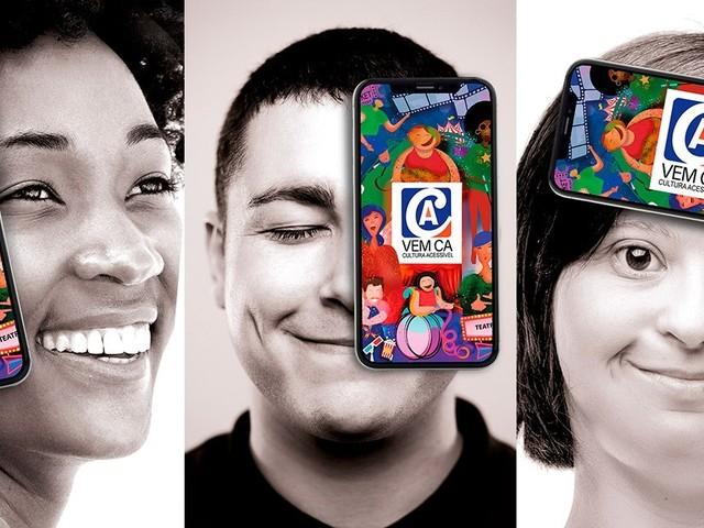 Aplicativo reúne programações culturais com acessibilidade em cidades brasileiras