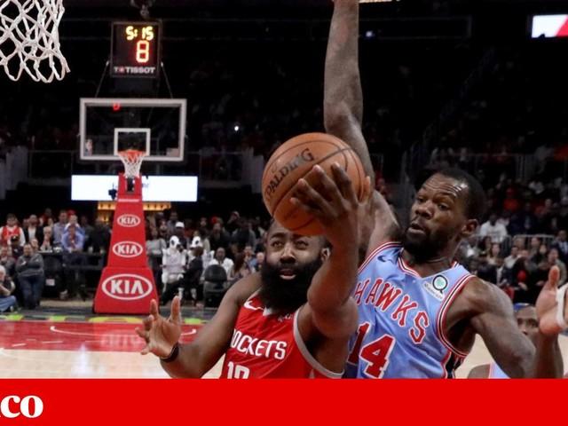 James Harden já fez 30 pontos contra todas as equipas da NBA