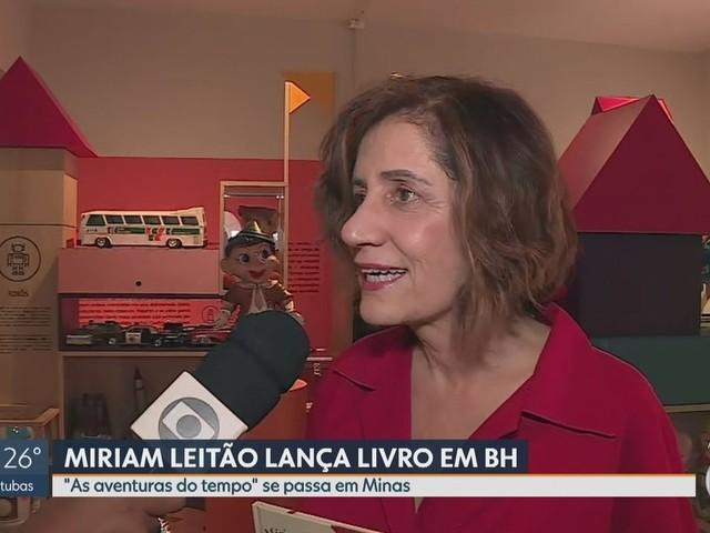 Jornalista Miriam Leitão lança livro infantil em Belo Horizonte