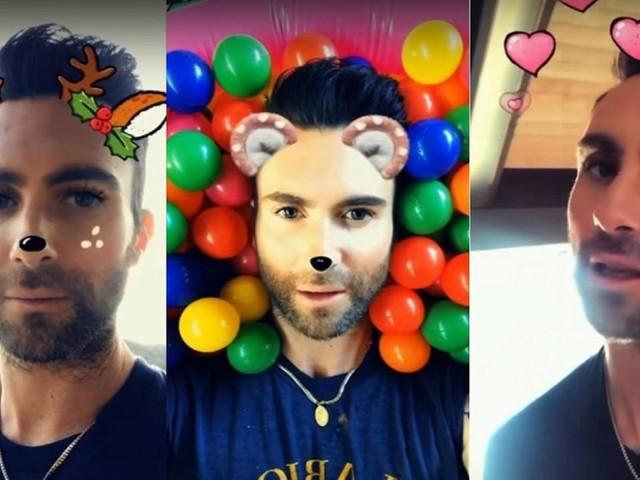 Novo clipe do Maroon 5 é feito só com filtros do Snapchat