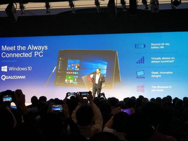 Microsoft promete mais de 24 horas de bateria em laptops com Windows 10 ARM