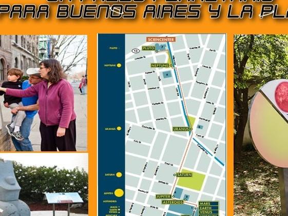 Paseos Planetarios en Palermo y La Plata