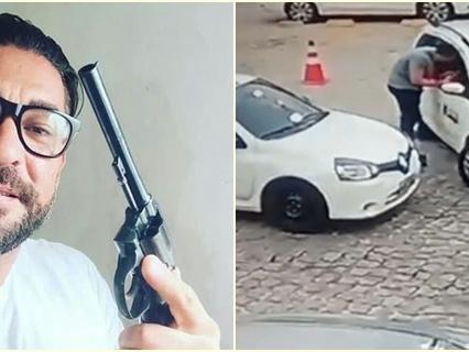 Cidadão de bem mata taxista por nada na frente de uma escola