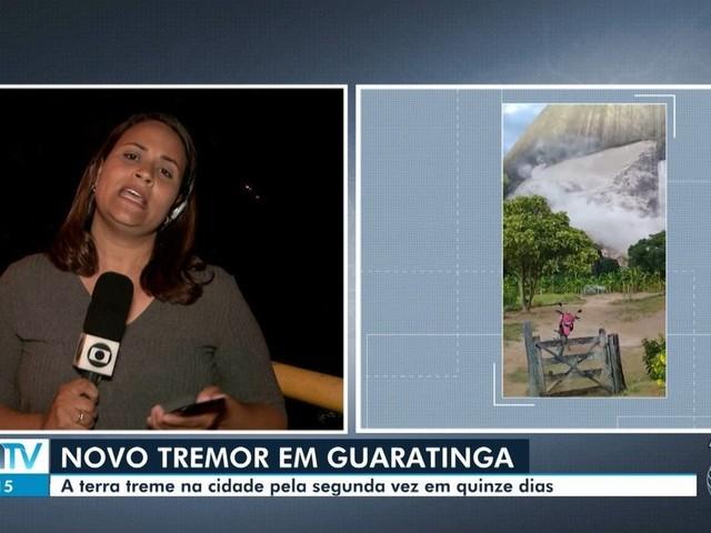 Guaratinga, no sul da BA, tem 2º tremor de terra em menos de 15 dias; abalo alcançou 2,1 na escala Richter