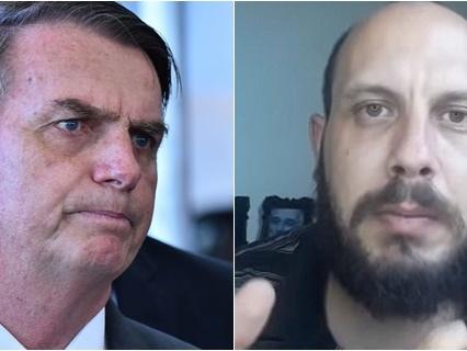 Youtuber que criticou Bolsonaro sente medo e diz estar arrependido