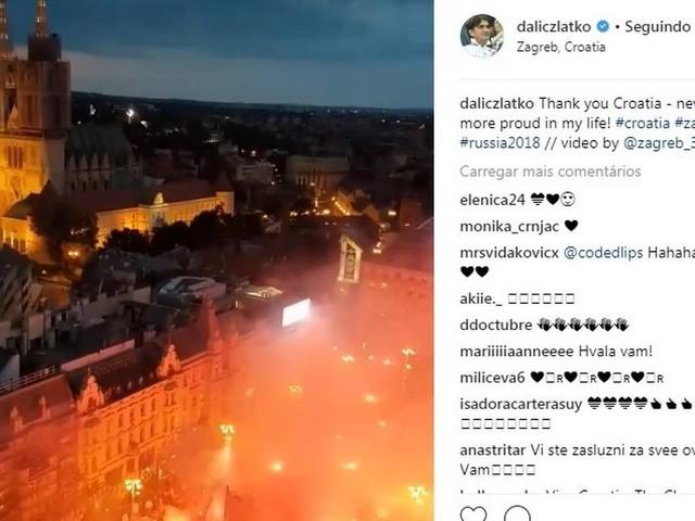 Vídeo: Técnico croata agradece festa em Zagreb e fala em 'orgulho'