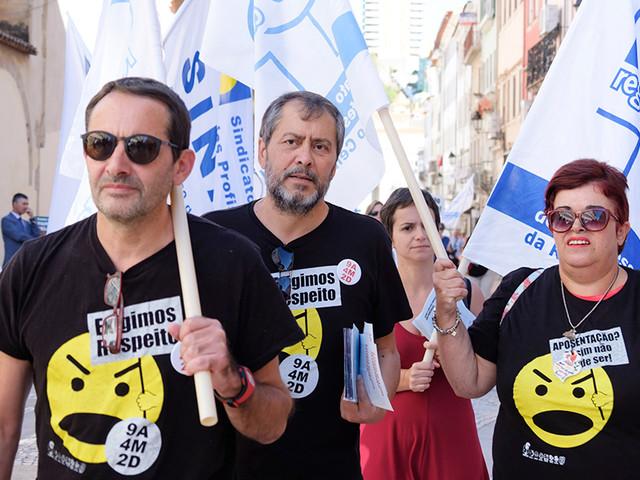 Professores voltam à rua na quinta-feira para exigir novas negociações com o Governo