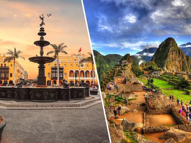 Passagens 2 em 1 para Lima e Cusco na mesma viagem a partir de apenas R$ 1.186!