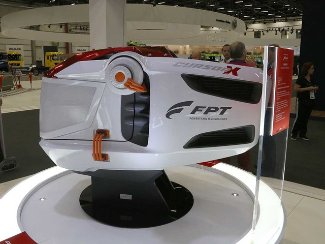 FPT mostra o motor do futuro Cursor X na Fenatran 2019