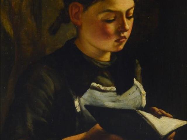 Imagem de leitura — Jozef Karel Frans Posenaer