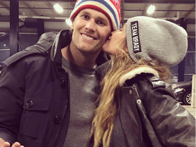 Gisele Bündchen parabeniza Tom Brady por vaga no Super Bowl