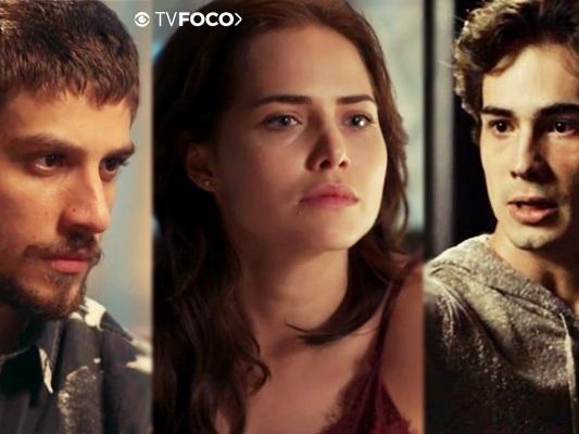 Rosa manipula os sentimentos de Ícaro e Valentim e se tona vilã em Segundo Sol