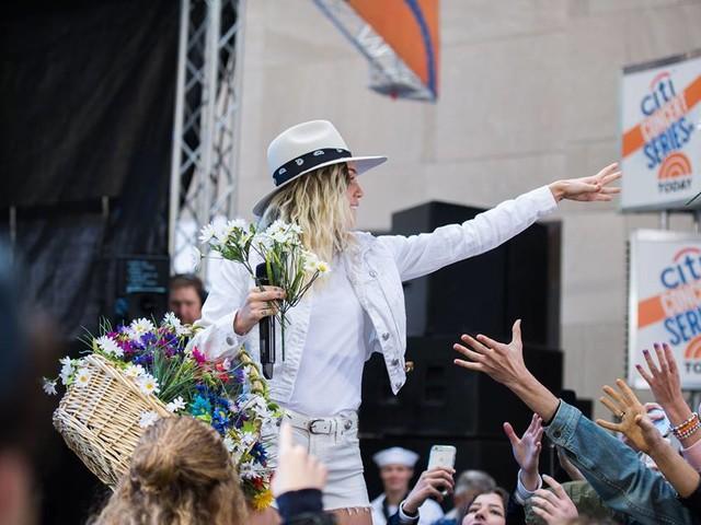Confira a participação de Miley no programa Today Show