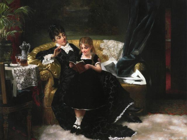 Imagem de leitura — Jan Frederick Pieter Portielje