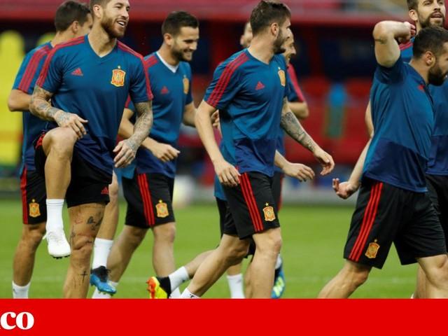 """""""Um jogo duro"""" para Espanha, mesmo com """"super-jogadores"""""""