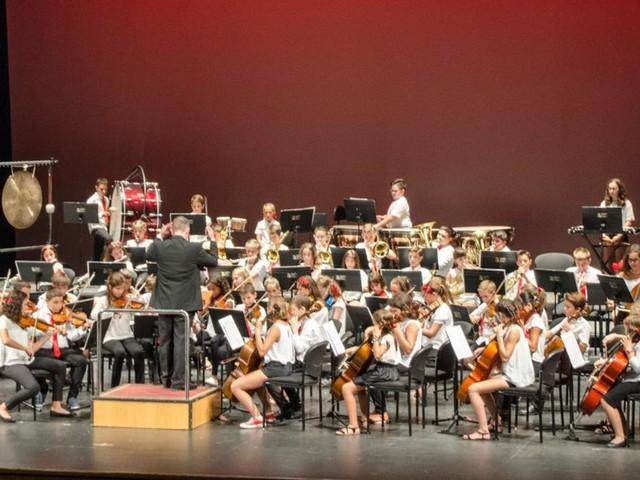 Los estudiantes que aprenden a tocar un instrumento musical obtienen mejores notas en matemáticas, ciencias e inglés
