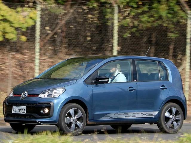 Recall: Volkswagen up!, Gol e Voyage são chamados por falha em airbag