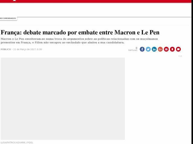 França: debate marcado por embate entre Macron e Le Pen