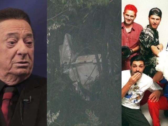 Falsa morte de Raul Gil se espalha após queda de avião no mesmo local de tragédia dos Mamonas Assassinas