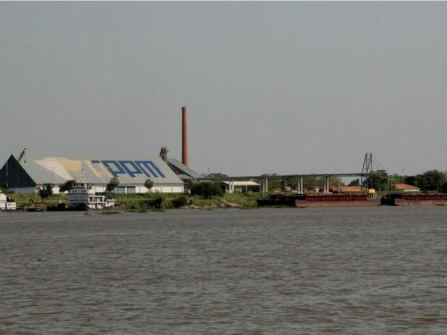 Mais de 10% da soja exportada por MS é escoada pelo terminal de Porto Murtinho na hidrovia do Paraguai