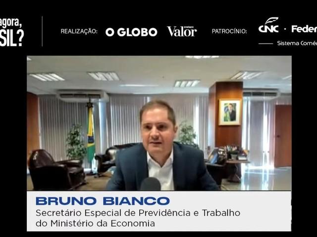Prioridade do governo é formalizar trabalhadores, não apenas pela CLT, diz Bianco