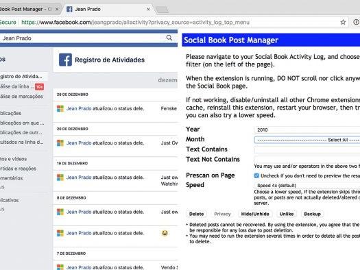 Como excluir todas (ou algumas) fotos e publicações no Facebook