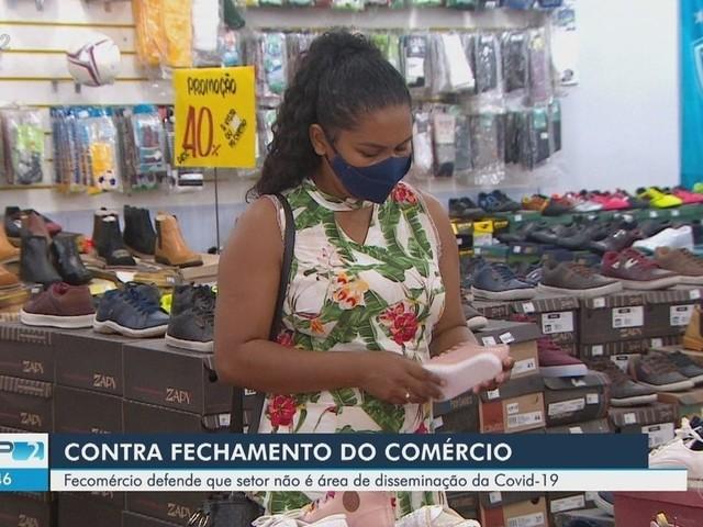 Fecomércio do Amapá defende que setor não foi área de disseminação da Covid-19 em 2020