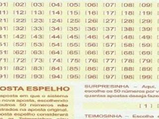 Jogos desdobrados Lotomania 1760 acumulada